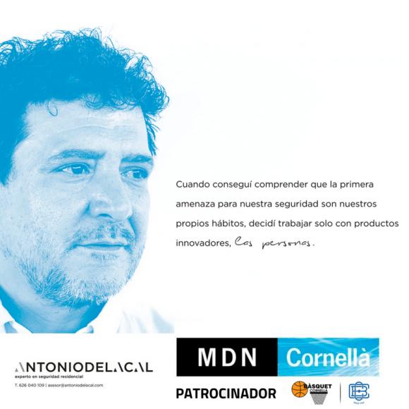 MDN CORNELLÀ, NOU PATROCINADOR DEL CLUB | BENVINGUT A LA FAMÍLIA BLAVA!